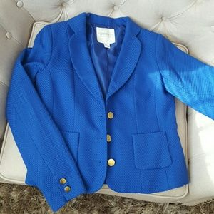 Blazer suit small Forever 21 royal blue